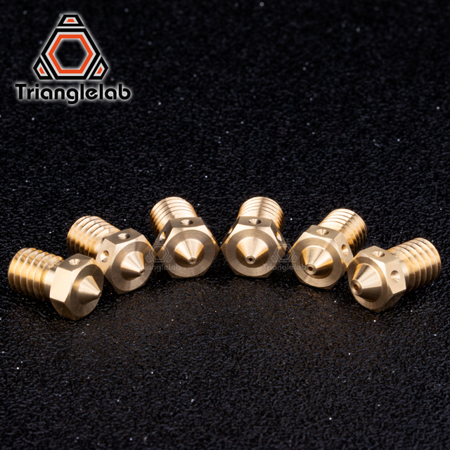 trianglelab 1PC Top quality V6  Nozzles for 3D printers hotend  3D printer nozzle for E3D Nozzles hotend titan extruder 3