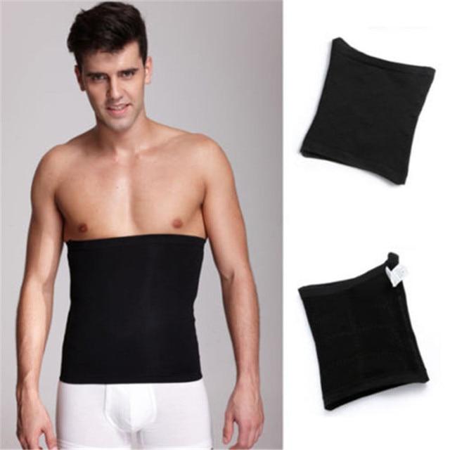 Men Losing Weight Fat Burner Corset Beer Belly Body Shaper Slimming Waist Trimmer Belt Sweatband Belly 4