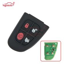 remtekey flip remote key fob for jaguar x s xj xk nhvwb1u241 4 button 434mhz Kigoauto Remote Control Car Key Fob Remote key fob 4 button 434Mhz for Jaguar X S XJ XK NHVWB1U241