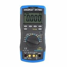 Лидер продаж holdпиковая Hp-770Hc True Rms Автоматический диапазон цифровой мультиметр с функцией Ncv и тестом температуры/частоты/рабочего цикла