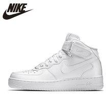 Nike NIKE AIR FORCE 1 MEADOS  07 de Skate dos homens Respirável Sapatos  Confortáveis Sapatos de Tênis Esportes Ao Ar Livre  3151. 50fa9a63988
