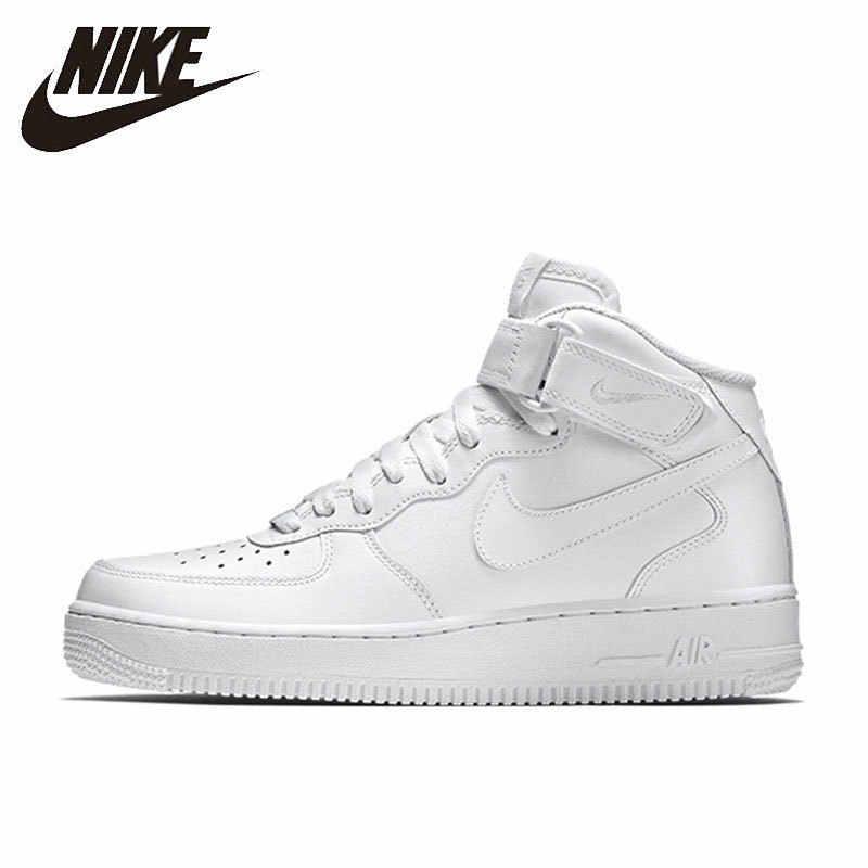 Nike NIKE AIR FORCE 1 MID '07 zapatos transpirables de skateboard para hombre cómodos deportes al aire libre zapatillas #315123