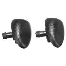 New Arrival 2Pcs Car Front Windshield Windscreen Washer Wiper Nozzle For Peugeot 407 206 цены онлайн