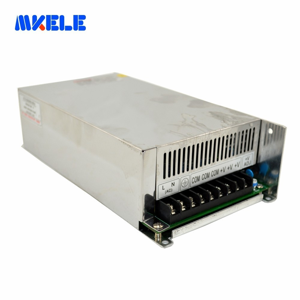 600w Switching Mode Power Supply 5V 12V 24V 48V Big Watte Small Size High Efficiency With