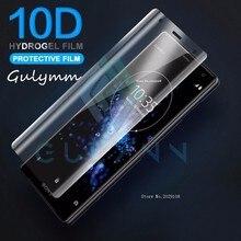 10D Gebogen Hydrogel Zachte Film Voor Sony Xperia Xa 1 2 Plus Ultra Volledige Cover Xz 2 3 Premium XZ1 xz S Compact Hd Screen Protector