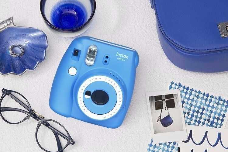 Nowy aparat fotograficzny Fujifilm Instax Mini 9 z bezpłatnym prezentem aparat fotograficzny z filmem w 6 kolorach blokujący natychmiastową fotokamerę