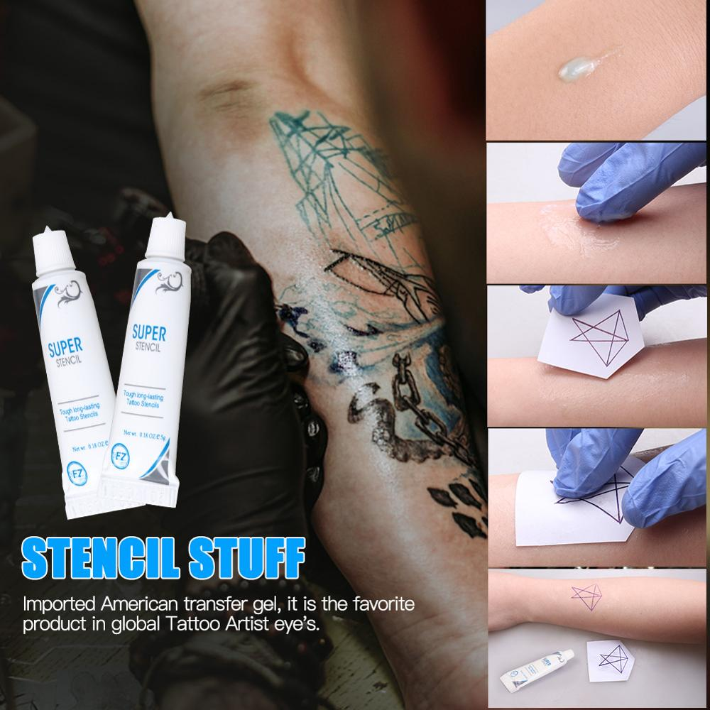 Tattoo Cream Gel Body Paint Stencil Stuff Oils For Tattoo Transfer Gel