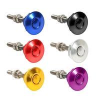 Universal 30mm Push Button Hood Pins Lock Clip Kit Engine Bonnet Lock Car Quick Latch Push Button Hood Pins