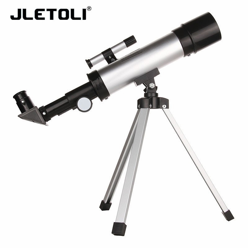JLETOLI 90X Professional Monocular Telescope With Tripod Hunting Hiking Camping Bird Mirror Child Astronomical Observation