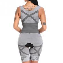 Women Shapewear Bodysuits Lift Rear Slim Tummy Control Shapewear Bamboo Fiber Seamless Bodysuit Girdles Body Shaper Bodysuits