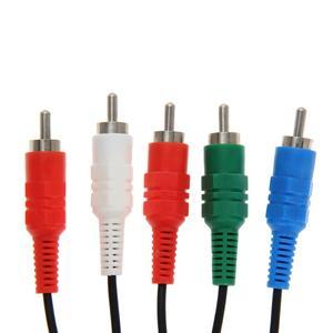 Image 5 - 1.8m 6FT HDTV AV Audio vidéo câble AV A/V composant câble cordon fil pour Sony PlayStation 2 3 PS2 PS3 mince adaptateur de jeu