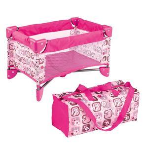 Имитация миниатюрной розовой кроватки, набор детской кроватки, кукольная мебель, аксессуары, украшение для винила, реалистичные куклы для м...