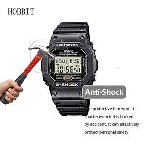 Image 4 - Protetor de tela nano à prova de explosão, para casio dw5600 dw9052 gwm5610 GW 5000 dw5035 a168w AE 1200, relógio esportivo lcd filme filme