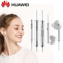 오리지널 화웨이 Am116 메탈 이어폰 명예 Am115 3.5mm 이어폰 헤드셋 마이크 볼륨 P10 Plus P9 P8 P7 라이트 메이트 8 9 6x V9