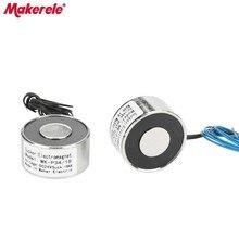 MK34/18 Lifting Electromagnet 18KG/180N Magneten Holding Electric Magnet Solenoid Sucker Electromagnet DC 6V 12V 24V все цены