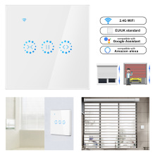 Smart Home WiFi Electrical touch smart Blinds curtain switch Ewelink APP Voice Control by Alexa Echo google home  Blinds Motor