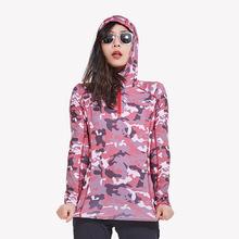 Letnie damskie kamuflaż cienkie szybkoschnące koszulki swetry damskie Outdoor Sports turystyka bieganie oddychające szybkoschnące koszulki z długim rękawem tanie tanio CN (pochodzenie) Pełne WOMEN POLIESTER SUSZENIE NA ZASILANIE oddychająca Koszule ZK04906 Camping i piesze wycieczki Dobrze pasuje do rozmiaru wybierz swój normalny rozmiar
