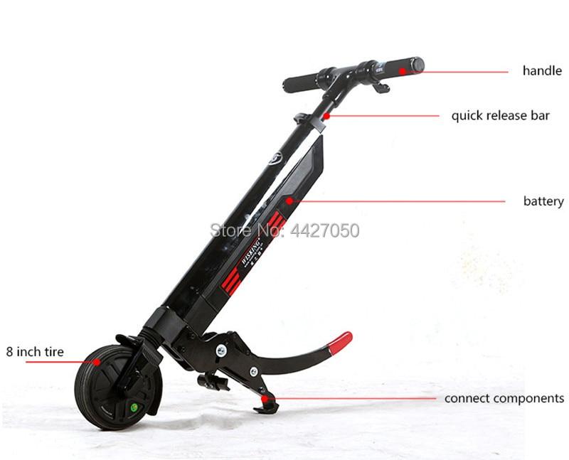 Free shipping good quality capacity 180kg mini lithium battery electric manual sport wheelchair device handbike