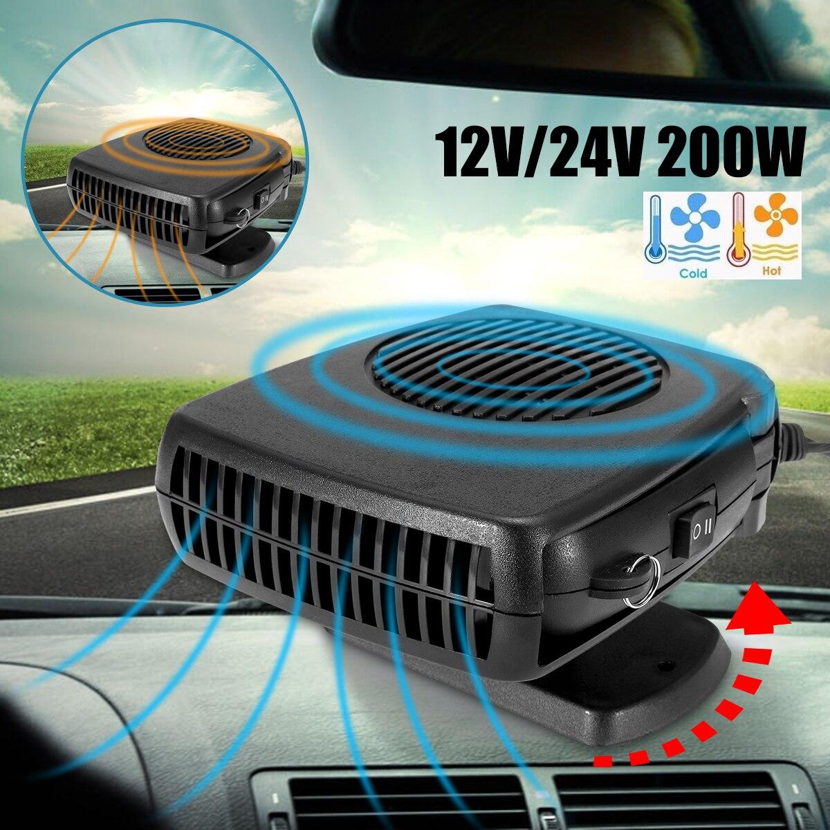 Luftkühler Fan Neue 10 Grip Auto Heizung 12 v/24 v 150-200 watt Windschutz Demister Defroster auto Heizung Kühlung Fenster Fahren Protabl