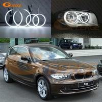 For BMW 1 Series E81 E87 Halogen headlight 2007 2008 2009 2010 2011 Excellent Ultra bright illumination CCFL Angel Eyes kit