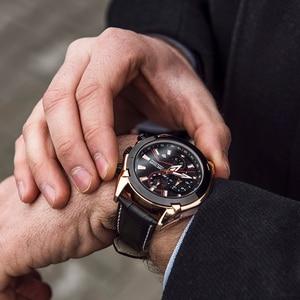 Image 4 - Megir クロノグラフスポーツウォッチ男性の高級クリエイティブ腕時計時計男性レロジオ masculino 2065 陸軍軍用腕時計