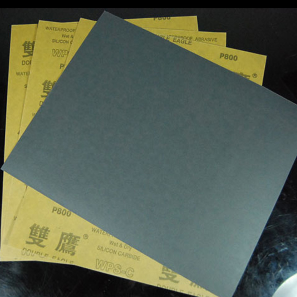 """6pc 9x11/"""" Sandpaper Waterproof Paper Wet//Dry Silicon Carbide 3000//5000//7000 grit"""
