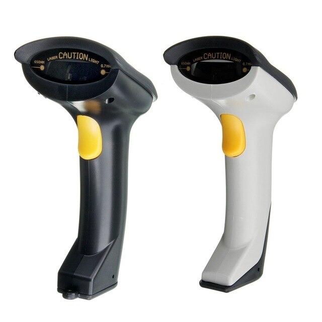 portable handheld scanner 2 4ghz wireless barcode scanner usb automatic laser scan bar code. Black Bedroom Furniture Sets. Home Design Ideas