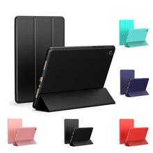 Чехол для Xiaomi Mi Pad 4 8,0 дюймов силиконовые Smart Cover Магнитный авто сна для Xiaomi Mi Pad 4 плюс 10,0 дюймов кожаный чехол
