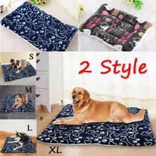 Large Pet Dog Cat Bed Puppy Cushion House Pet Soft Warm Kennel Dog Mat Blanket(China)
