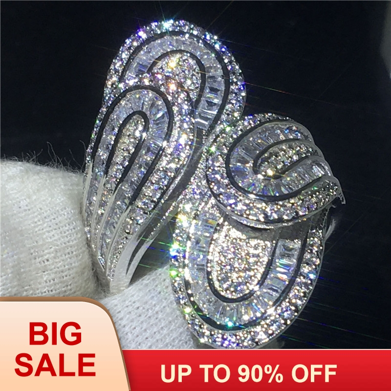 90% Off Luxury Cross ring 925 Sterling silver T-shape AAAAA Cz Engagement wedding band ring for women Bridal Finger Jewelry90% Off Luxury Cross ring 925 Sterling silver T-shape AAAAA Cz Engagement wedding band ring for women Bridal Finger Jewelry