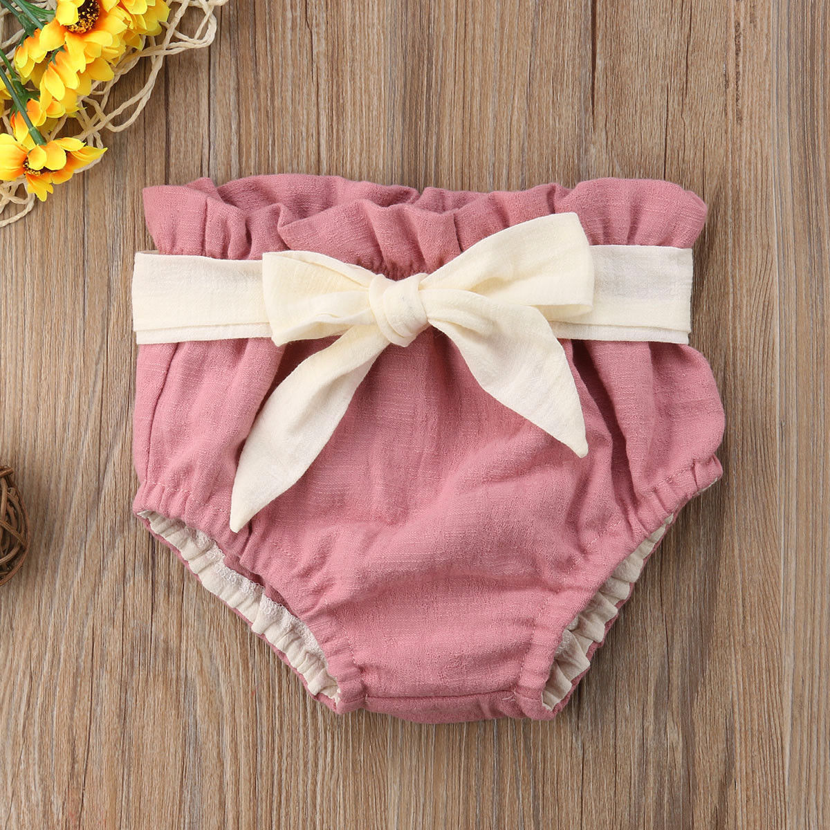 Pudcoco Girl Clothes Cotton Infant Baby Girl Boy Shorts PP Pants Nappy Diaper Covers Bowknot Bloomers