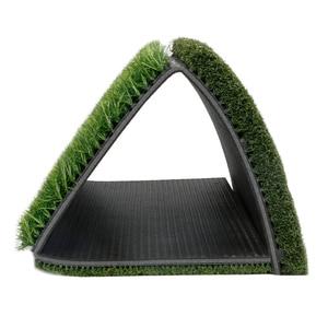Image 3 - גולף דשא מחצלת כוללת הדוק שקר מחוספס ומעבר פתוח עבור נהיגה ולשים בפועל גולף והכשרה 3 ב  1 דשא דשא מחצלת