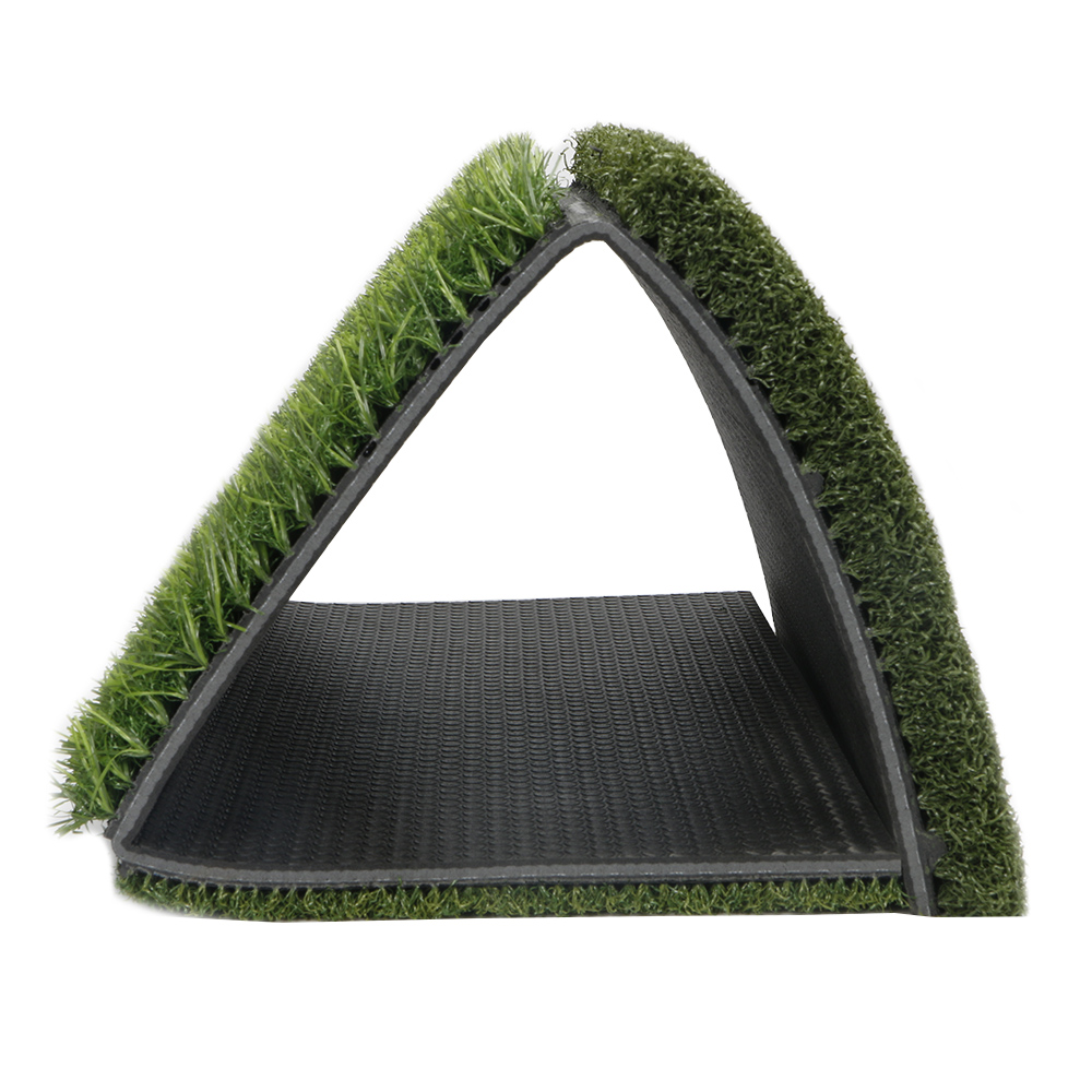 Image 3 - Golf Grass Mat Includes Tight Lie Rough and Fairway for Driving and Putting Golf practice and Training 3 in 1 Turf Grass Mat-in Golf Training Aids from Sports & Entertainment