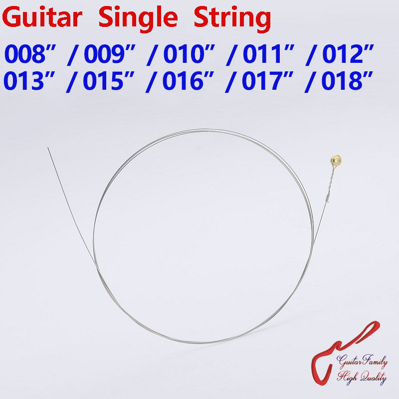 1 шт., гитара для всей семьи, одна струна 008/009/010/011/012/013/015/016/017/018, Сделано в Корее