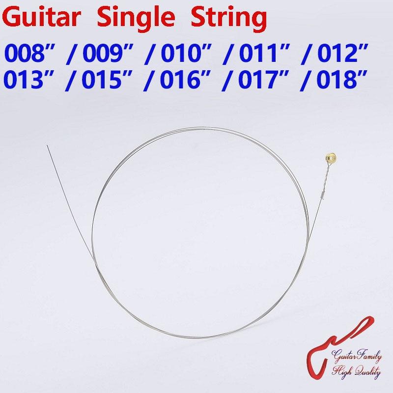 1 Piece GuitarFamily  Guitar Single String  008/009/010/011/012/013/015/016/017/018  MADE IN KOREA