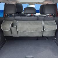 Durable Car Trunk Storage Bag Seat Back Hanging Bag Children's Toy Storage Bag Sundries Storage Container Wear Resistant