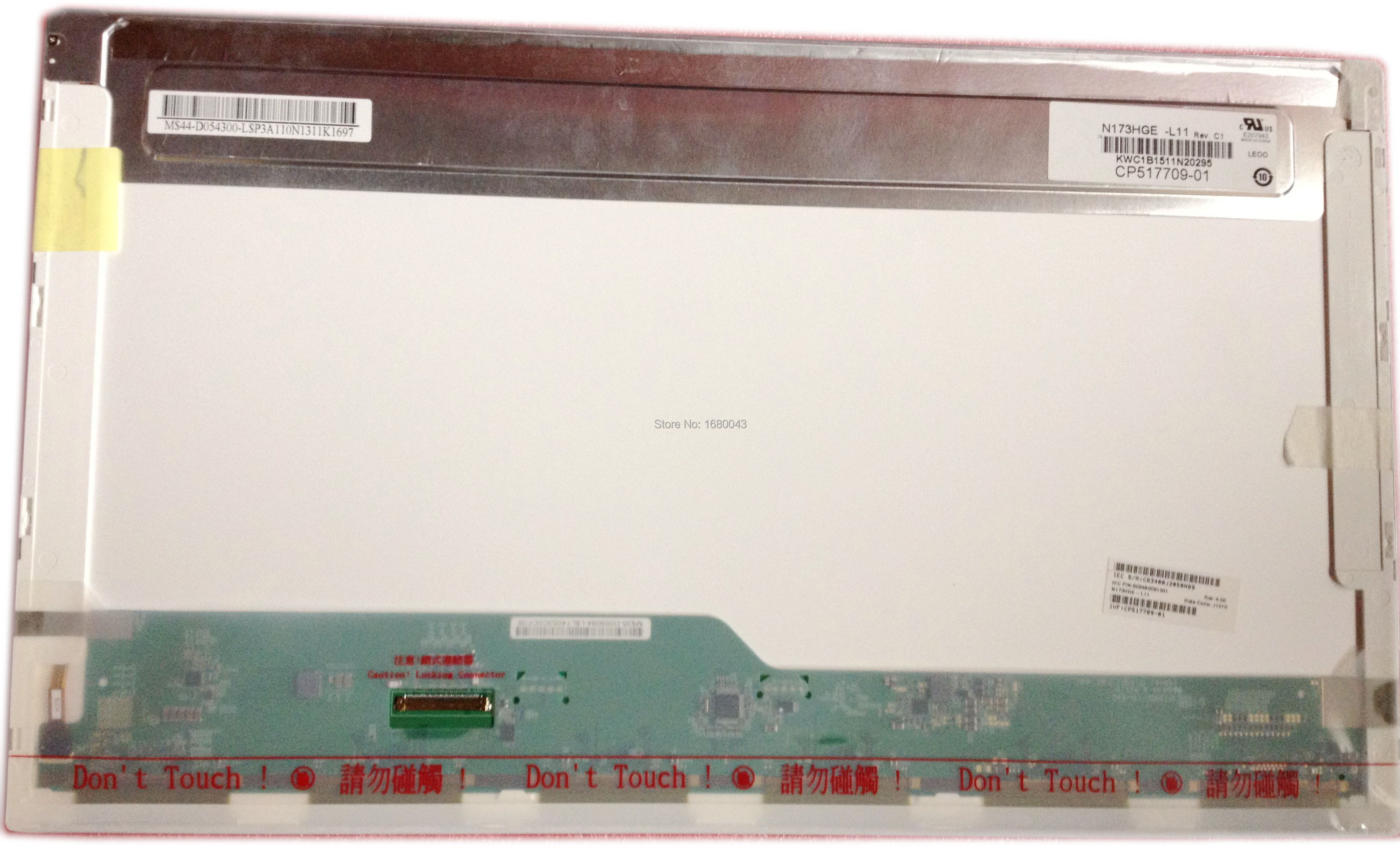 N173HGE-L11 Rev C1 Fit B173HW02 V.1 V.0 B173HW01 V.5 1920x1080 HSD173PUW1 A00 A01 N173HGE-L21 40 Pin LCD SCREEN PANEL