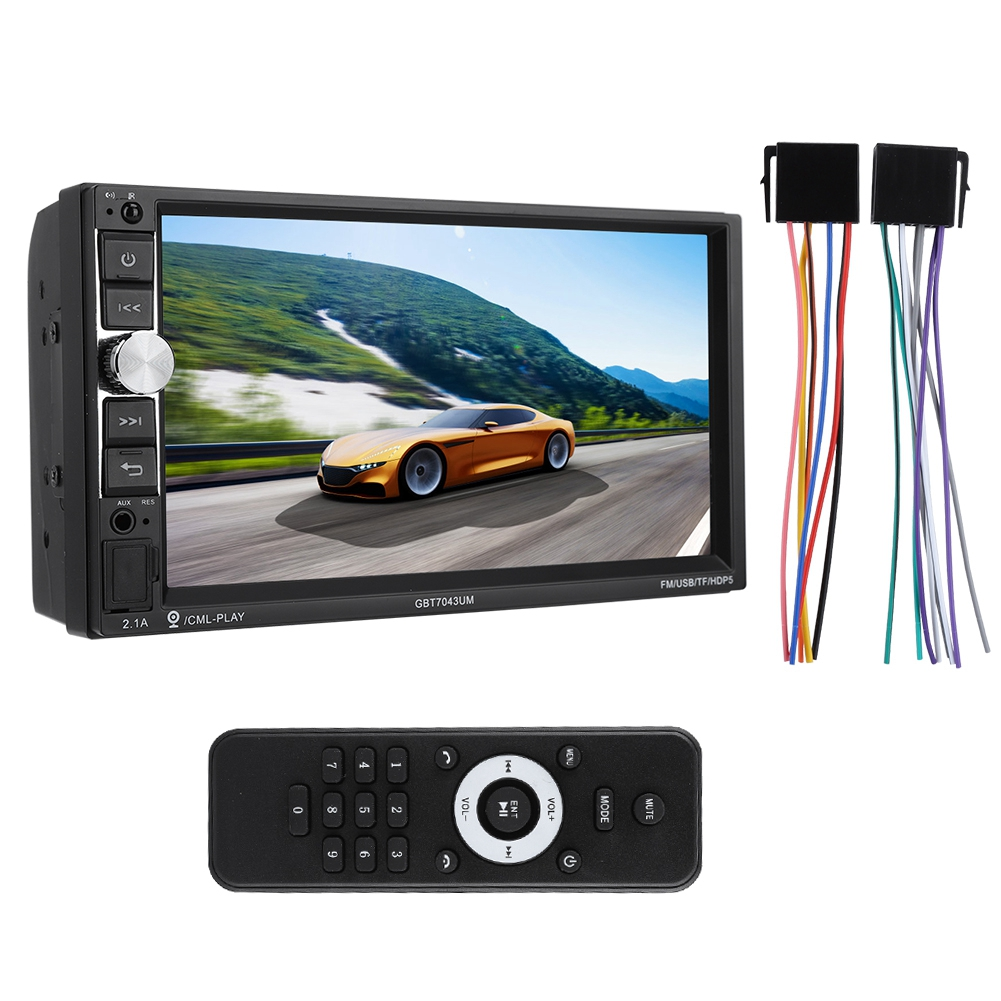 Unterhaltungselektronik Neue Hohe Qualität 7 universal Mp5-7043um Auto Bluetooth Mp5 Mp3 Player Monitor Auto Multimedia