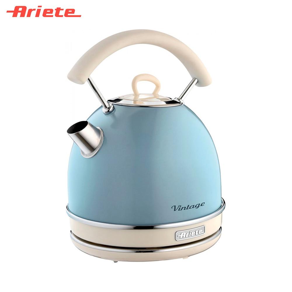Electric Kettles Ariete 8003705114302 smart kettle teapot pot water boiler full intelligent electric teapot automatic water heater kettle full tea stove set