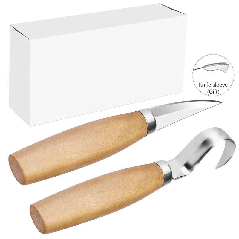 2Pcs\/set Manual Wood Carving Hand Chisel Tool Set Carpenters Woodworking Carving Chisel DIY