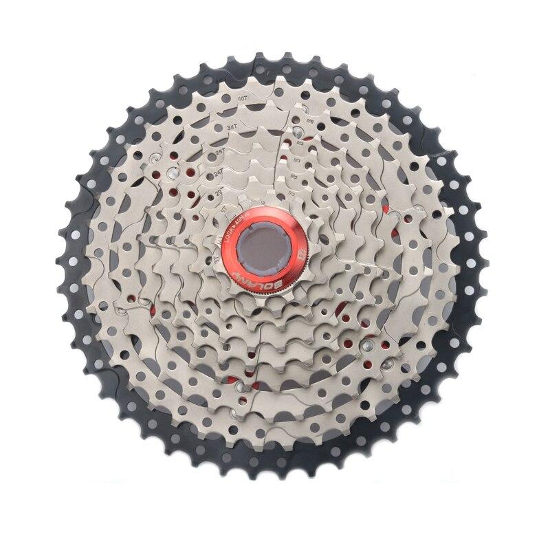 HOT-Bolany 9 27 S 11-46 T vélos de montagne à vitesse unique vtt rapport large vélo Cassette pignons pièces
