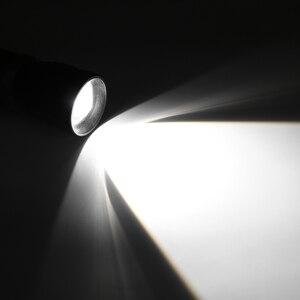 Image 5 - 태양/usb 전원 손전등 충전식 태양 손전등 야외 캠핑에 대 한 18650 토치 모바일 전원 은행 내장 배터리