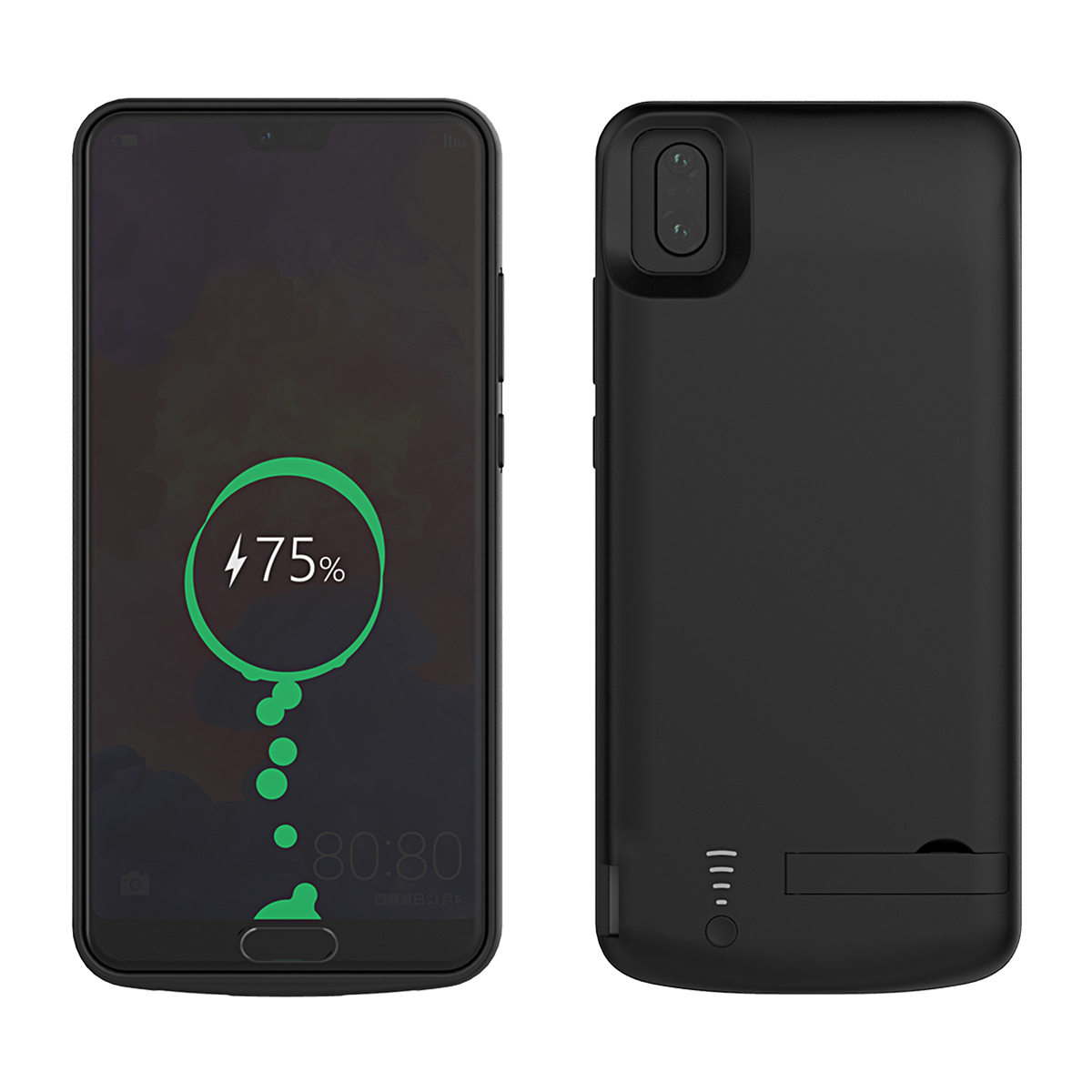 CASEWIN <font><b>Battery</b></font> Charger <font><b>Case</b></font> For <font><b>Huawei</b></font> <font><b>P20</b></font> Pro <font><b>Battery</b></font> <font><b>Case</b></font> Soft Silicone 6500mAh Power Bank External Backup Charger phone <font><b>Case</b></font> image