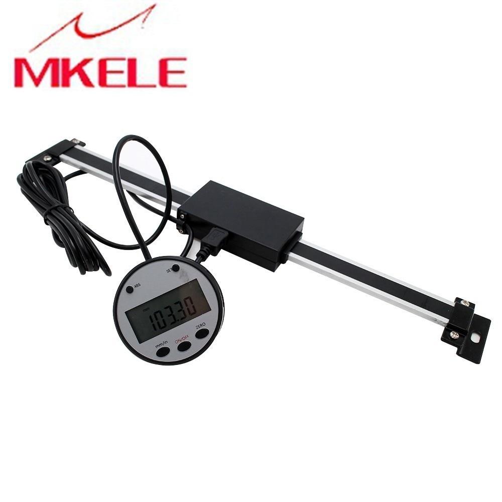 0-200mm Remoto Balança Digital Escala DRO Digitais Para Bridgeport Moinho Torno Magnético Linear Balança Digital 0.01 milímetros frete Grátis