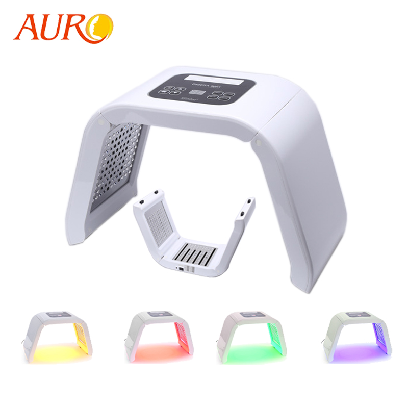 AURO 2019 New Product Au-2B Led Light Facial Lamp Therapy Skin Care Machine For Face And Body With Free Shipping