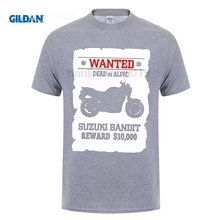 GILDAN funny men t shirt Graphic Letter O-Neck Solid Short Sleeve T Shirt Bandit Gsf 600 650 1250 1200 biker Print Tee