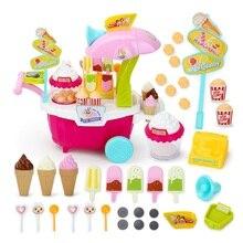 1 Набор детского моделирования набор кухонных столовых приборов попкорн десертная тележка развивающие игрушки набор