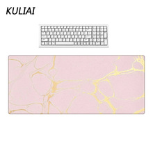 XGZ Pink Wallpaper Large Size Mouse Pad Non-slip Non-fading Washable Desktop Decorative Mats Player Computer Gaming Mat