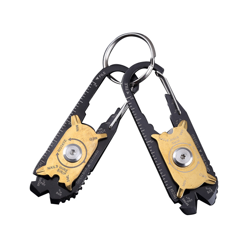20 in1 Pocket Portable Gadget Mini  Multi Tool Screwdriver Wrench Keychain EDC A