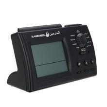 Black Islamic Azan Time Alarm Table Clock Muslim Athan Adhan Prayer LCD Display недорго, оригинальная цена
